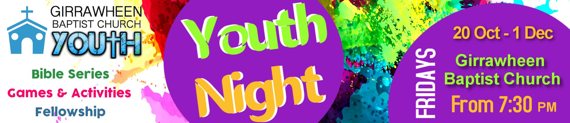 Youth Night 2017 Term 4